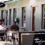 Café Tant gröns uteservering