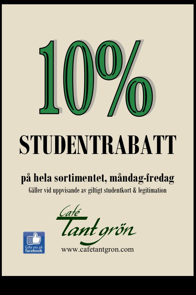 Studentrabatt